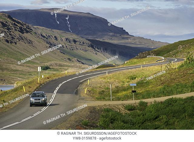 Route One or The Ring Road, Hvalfjordur, Iceland