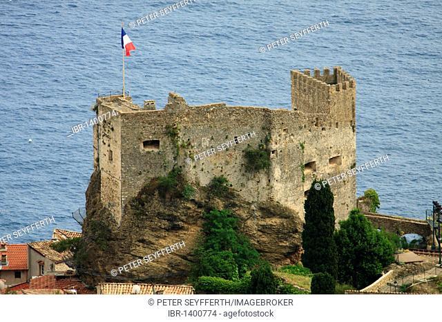 Château, Roquebrune Cap Martin, Région Provence-Alpes-Côte d'Azur, France, Europe