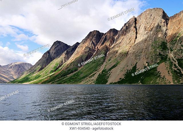 North Arm of Saglek Fjord, Torngat Mountains National Park, Newfoundland and Labrador, Canada