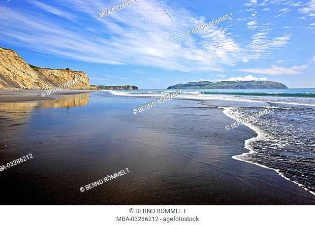 North America, the USA, Alaska, Kodiac island, Pasagshak State Recreation site, beach