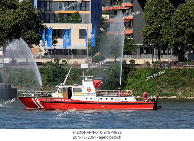 Firefighter Boat Bonn