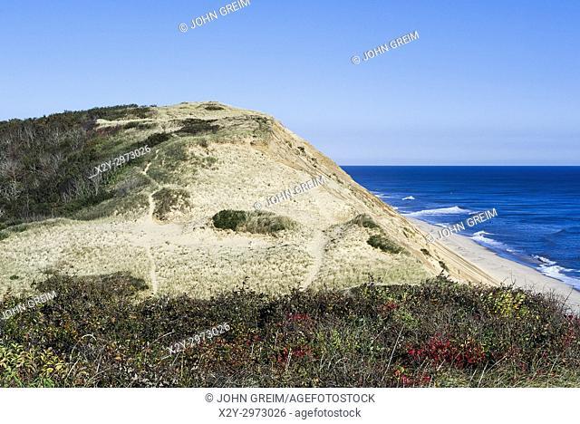 Long Nook Beach, Cape Cod National seashore, Truro, Cape Cod, Massachusetts, USA