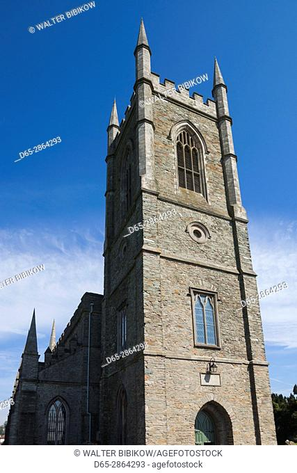 UK, Northern Ireland, County Down, Downpatrick, Down Cathedral, exterior