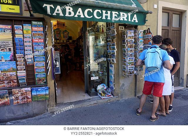 Tabaccheria, Volterra, Italy