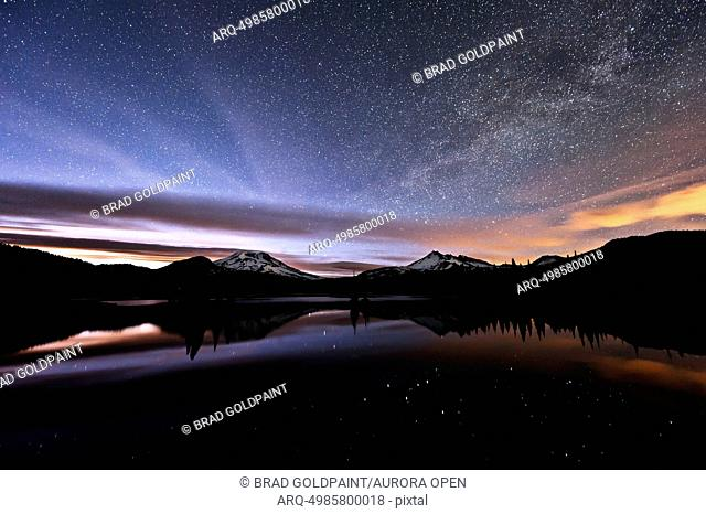 The Milky Way at Sparks Lake