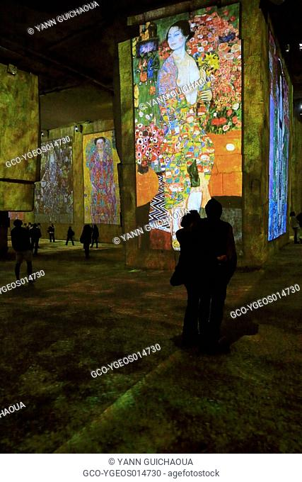 Klimt and Vienna, A Century Of Gold and Colors, Quarries Of Baux de Provence, France