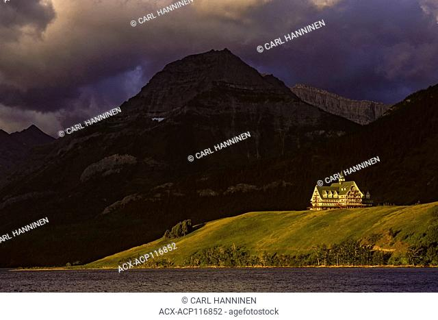 Prince of Wales Hotel, Waterton Lakes National Park, Alberta