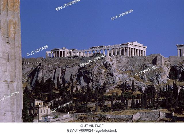 Acropolis, Athens, Greece, 1963