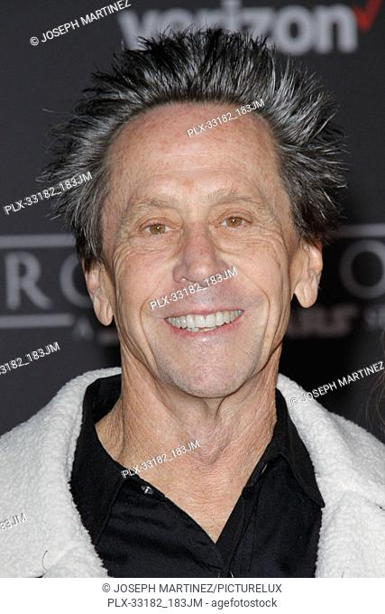 """Brian Grazer at the world premiere of """"""""Rogue One: A Star Wars Story"""""""" held at the Pantages Theatre in Hollywood, CA, December 10, 2016"""