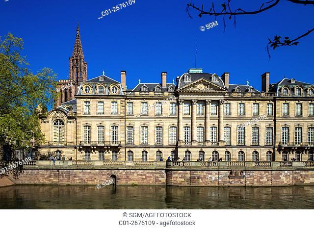 'Palais Rohan' Rohan Palace, Strasbourg, Alsace, France