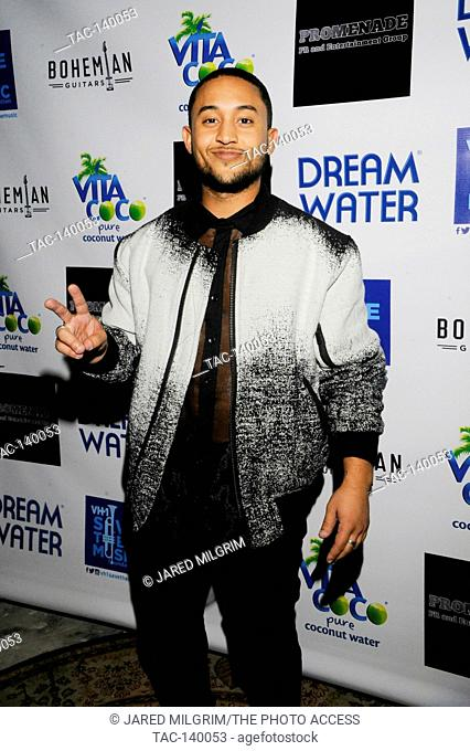 Actor / SInger Tahj Mowry attends VH1 Rock The Schools Concert at The Mint on December 11, 2015 in Los Angeles, California