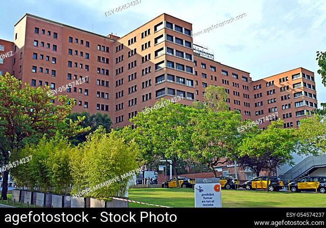 . . Hoapital Vall d 'Hebron in Barcelona Catalonia Spain