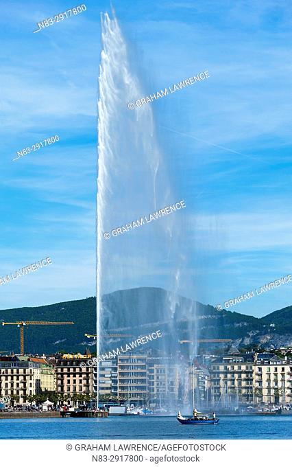 Lake Geneva, Geneva, Switzerland, Europe