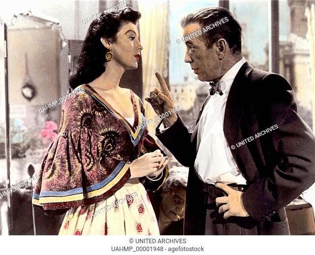 Die barfüßige Gräfin, (THE BAREFOOT CONTESSA) USA 1954, Regie: Joseph L. Mankiewicz, AVA GARDNER, HUMPHREY BOGART