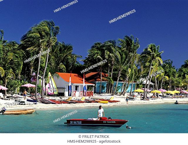 France, Guadeloupe French West Indies, Grande Terre, Saint-Francois, Plage du Meridien