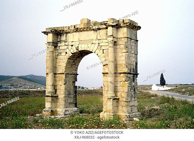 tunisia, Sbeitla, Sufetula