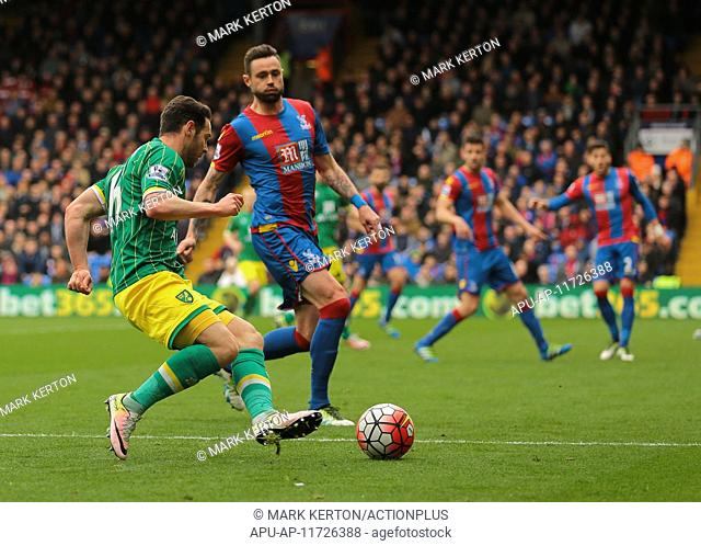 2016 Barclays Premier League Crystal Palace v Norwich Apr 9th. 09.04.2016. Selhurst Park, London, England. Barclays Premier League