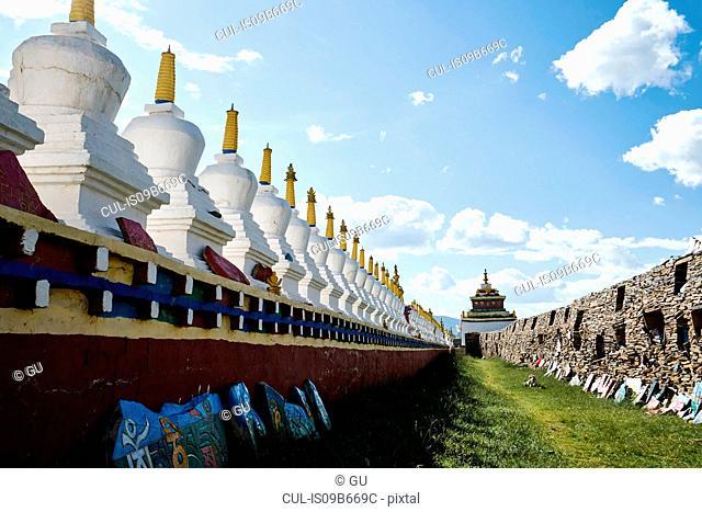 Temple at Serxu, Sichuan, China