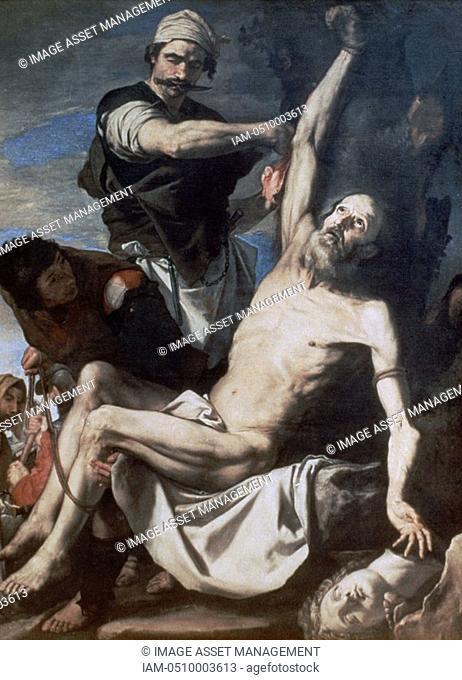 Jusepe de Ribera 'Martyrdom of St Bartholomew', 1644