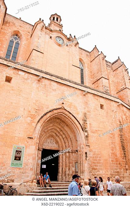 Santa Maria cathedral, Ciutadella, Menorca