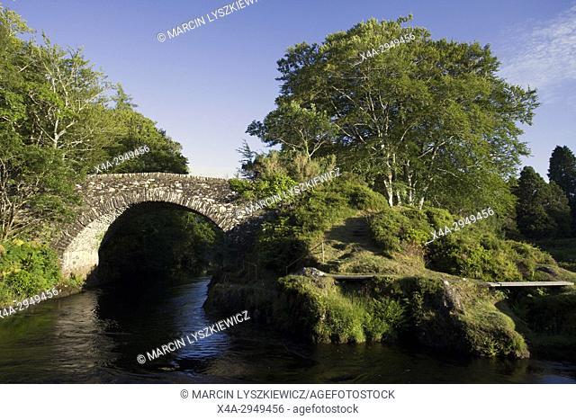 19th Century Bridge over Shiel River near Castle Tioram
