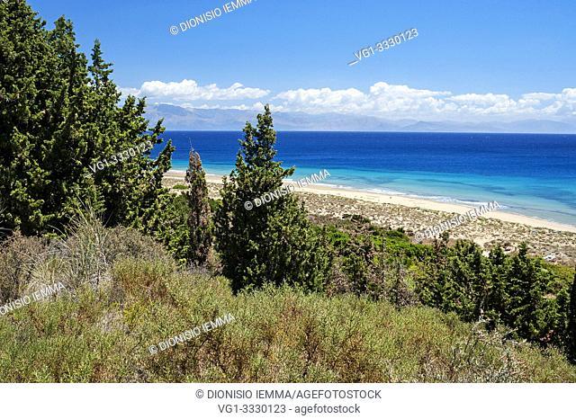 Greece Erikoussa Island, Ionian Islands, Europe, Corfu district, Brakini beach