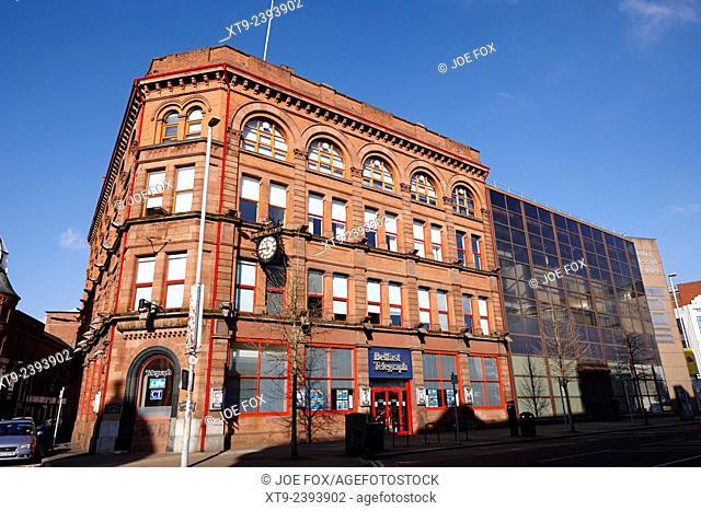 Belfast Telegraph Newspaper offices Royal Avenue Northern Ireland uk