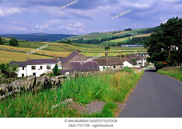 Upland moorland settlement of Alston, Cumbria, northern Pennines, England