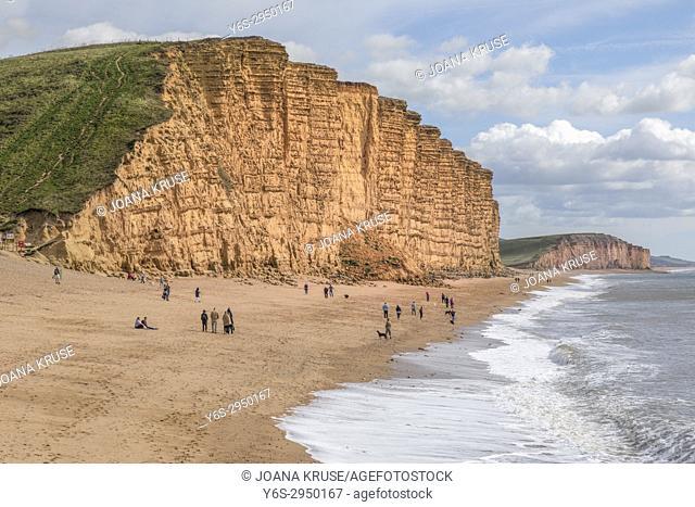 West Bay, Dorset, England, United Kingdom
