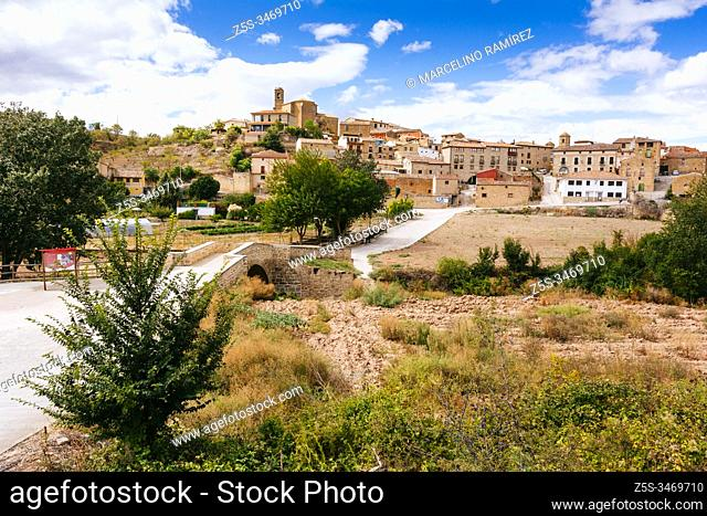 Torres de Río, French Way, Way of St. James. Navarre, Spain, Europe