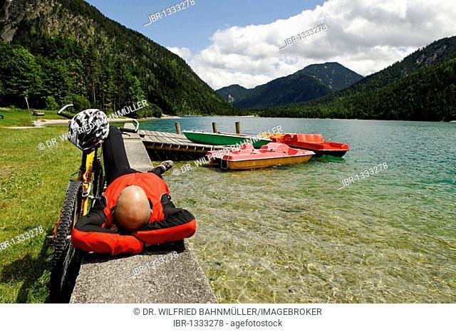 Plansee lake, Tyrol, Austria, Europe
