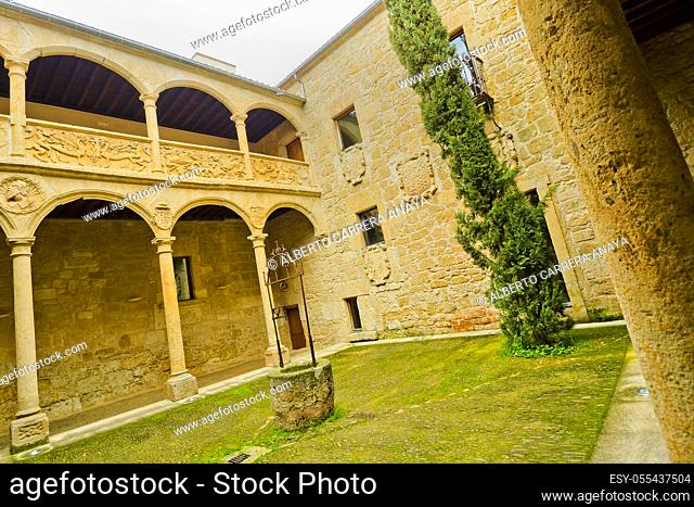 Palace of Los Ã. guila, 16th-17th century, Independence Spanish War Museum, Historic Artistic Monument, Ciudad Rodrigo, Medieval Town