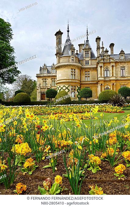 Gardens. Waddesdon Manor. Buckinghamshire. England