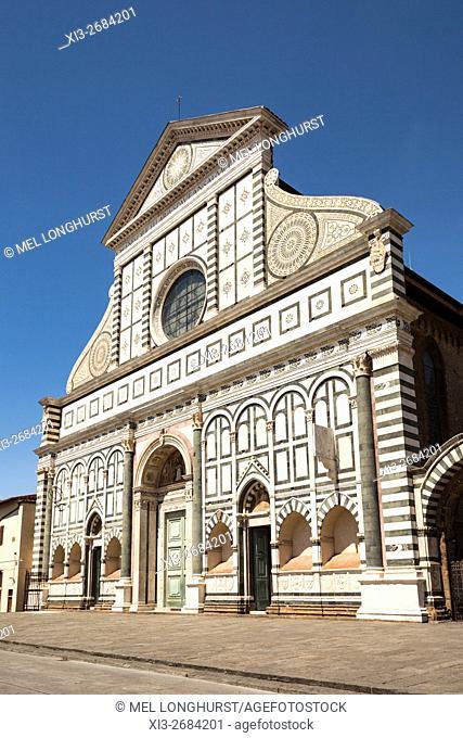 Santa Maria Novella Church, Piazza Di Santa Maria Novella, Florence, Tuscany, Italy