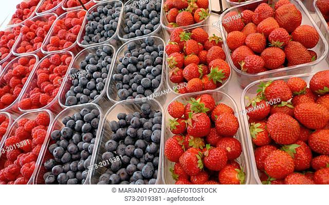Fruit in Helsinki street market, Finland