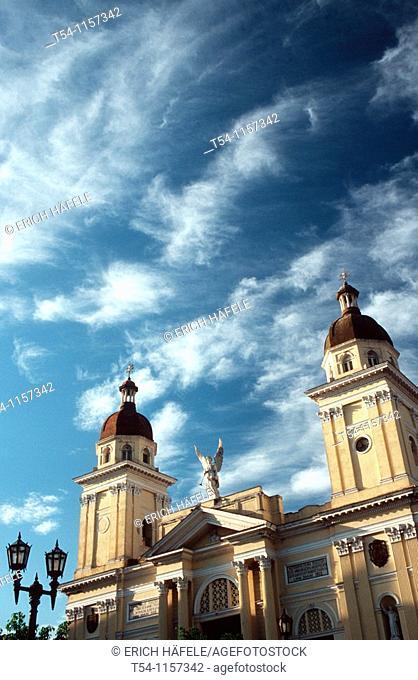 Catedral de la Asuncion in Santiago de Cuba