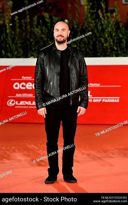 Kyan Khojandi arrives for the screening of 'Le Discours' (The Speech) at the 15th annual Rome International Film Festival, Rome, ITALY-19-10-2020