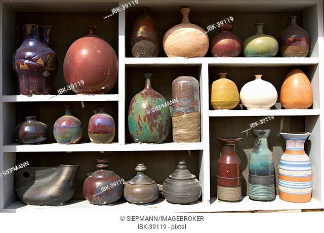 Pottery in Rafel de Forca