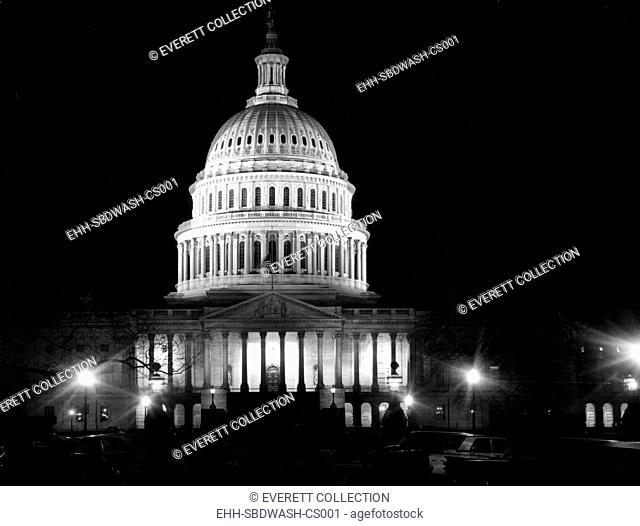 WASHINGTON, D.C., U.S. Capitol Building, 12-19-1963. Courtesy: CSU Archives / Everett Collection