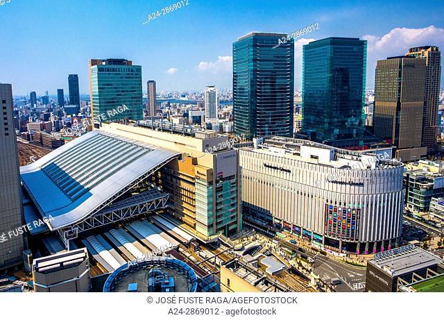 Japan,Kansai, Osaka City, Osaka Station