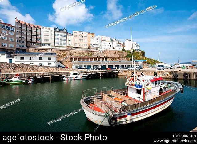 Port of Malpica, La Coruña, Galicia, Spain