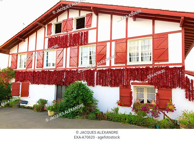 Espelette, Basque Country, France