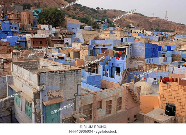 Jodhpur, Rajasthan, India, Asia, Thar desert, Rajput, Blue City, Sun City, Mehrangarh Fort