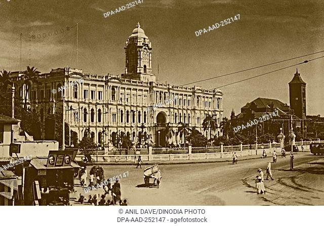 Vintage photo of ripon building, chennai, tamil nadu, india, asia