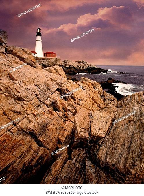 Portland Head Light, USA, Maine