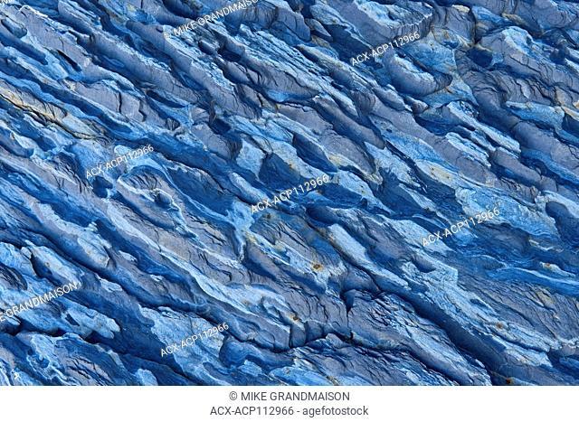 Detail of Rocks, Blue Rocks, Nova Scotia, Canada