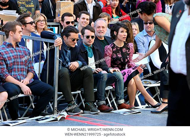 Peter Jackson is honored with a star on the Hollywood walk of fame. Featuring: Orlando Bloom, Elijah Wood, Evangeline Lilly, Lee Pace