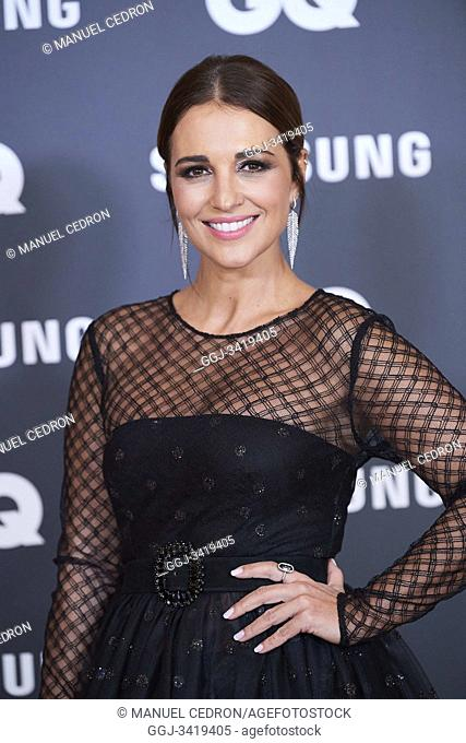 Paula Echevarria attends GQ Men of the Year Awards 2019 at Palace Hotel on November 21, 2019 in Madrid, Spain