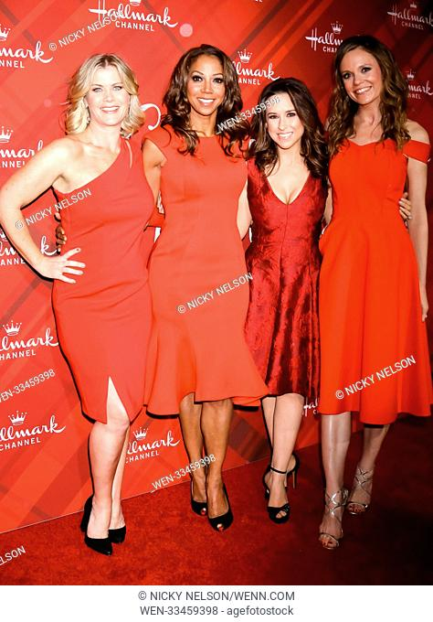 Hallmark's 'Christmas at Holly Lodge' screening at 189 The Grove Drive - Arrivals Featuring: Alison Sweeney, Holly Robinson Peete, Lacey Chabert