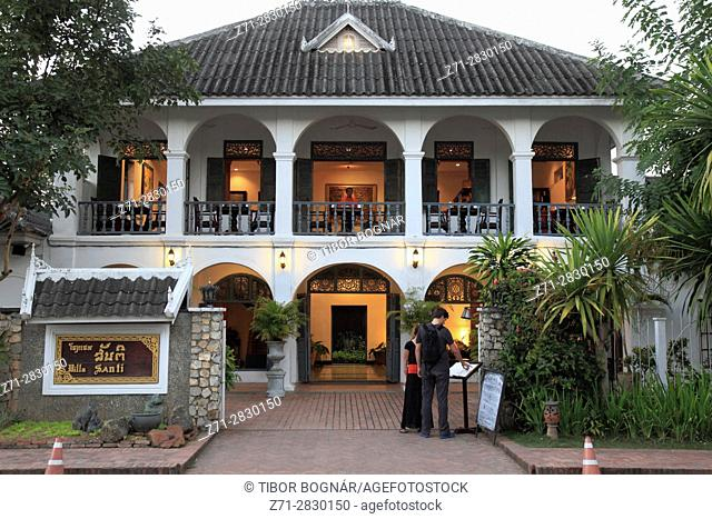Laos, Luang Prabang, Villa Santi, restaurant,